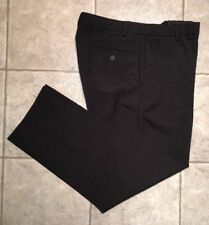 DOCKERS GOLF * Mens Black RELAXED FIT Casual Pants * Size 36 x 32 * EXCELLENT