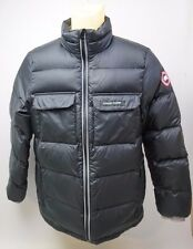 Canda Goose Rupert Water Resistant Black Down Jacket Size XL Youth Boys