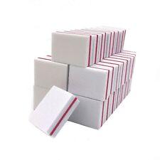 100 X Nail Art Buffer File Block Mini Sponge Sanding Buffing Nail File Tools Lim