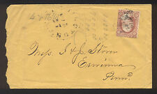 1861 Washington 3 cent Cover with Letter, Wilminton, DE to PA - Nice!