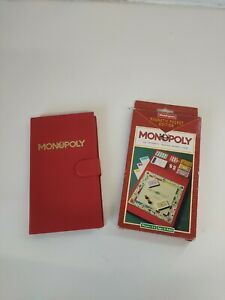 MONOPOLY Magnetic Travel Pocket Edition Board Game | Vintage 1993 | Waddingtons