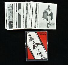 Saturday Serials Trading Card Set Series I   1988  NM+++