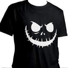 Jack Skellington Halloween Nightmare Short Sleeve Unisex Funny T-Shirt Size M