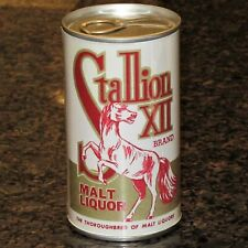 Stallion Xii Replica / Novelty beer can, paper label