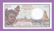 (Ref: D.2) BILLET DE DJIBOUTI 500 FRANCS 1979 (NEUF)