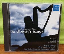 His Majesty's Harper CD Andrew Lawrence-King - Dowland Byrd Le Flelle MacDermott