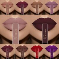Women Waterproof Long Lasting Velvet Matte Lipstick Makeup Liquid Lip Gloss Hot~