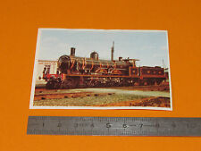 CHROMO CHOCOLAT POULAIN 1976  CHEMIN DE FER TRAIN LOCOMOTIVE 2.2.1 ATLANTIC NORD