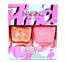 NAILS INC Flock You POLISH SET 2 x .47 Oz Limited Edition NEW FREE SAME DAY SHIP