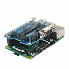 Gpio Uart Raspberry Pi 3B/2B/B Expansion Board Module + 40 Pin/2Spi/1I2C/Rs232 N