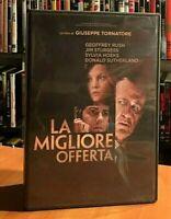 La Migliore Offerta Giuseppe Tornatore Donald Sutherland DVD OTTIME CONDIZIONI