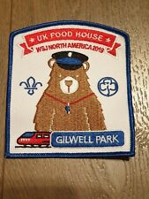 Limited edition 24th World Scout Jamboree 2019 Badges. UK Contingent, Foodhouse