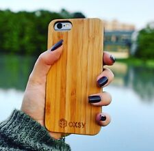 OXSY Bamboo Real Wood Apple iPhone 6/6S Case Cover | Free 1st Class UK Post