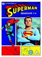 Adventures Of Superman: Seasons 1-4 [DVD][Region 2]