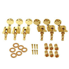 6pcs Electric Guitar String Tuning Pegs Locking Tuners Keys Machine Heads 3L+3R
