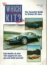 The Which Kit? Guide Magazine Summer 1988 Essential Guide To British Kit Cars