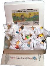 "Toonerville Folks  ""Milk Glass"" Christmas Lights - Save On Whole Set!"
