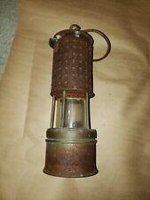 Vintage KOEHLER PERMISSIBLE Coal Miner Flame Safety Lamp Lantern