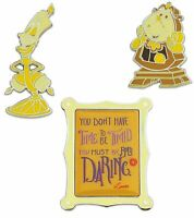 Disney Wisdom Pin Set - Beauty and the Beast - June - Limited Release