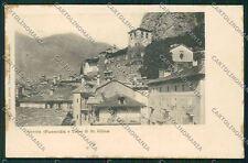 Aosta Verres cartolina QQ6014