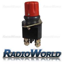 Battery Isolator Kill Master Switch Push Twist Button Emergency Stop 24v 250A