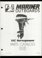 Orig 1980 Mariner 15C HP Outboard Motor/Engine Illustrated Parts List Catalog