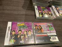 Camp Rock Das Final Jam Nintendo DS Pal Verschlossen Neu Versiegelt Spanisch