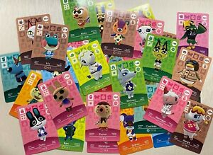 GENUINE Animal Crossing Amiibo Cards Series 1 2 3 4 New Horizons - Updated 20/7