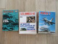 LOT MAGAZINES HISTORIA WWII MACH1 ANNEES 40 TTBE VOIR PHOTOS