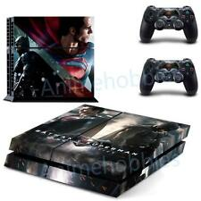 Batman VS Superman Dawn of Justice Vinyl Decals Skin for PS4 Console Controllers