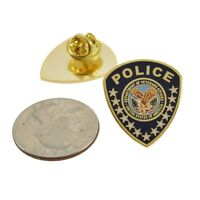 "VA Department of Veterans Affairs Police Patch Lapel Pin Federal Agency 1"" NEW"