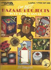Our Best Bazaar Projects in Plastic Canvas - Leisure Arts Leaflet 1700