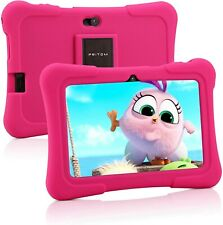 Pritom Tablet per bambini da 7 pollici, Quad Core Android, ROM da 16 GB,...