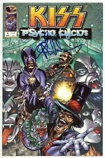 KISS Psycho Circus (1997) #1 1st Print Image Signed By Angel Medina No COA NM-