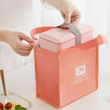 Waterproof Lunch Bag Thermal Kids Portable Food Bag Small Lunch Box Bags Cooler