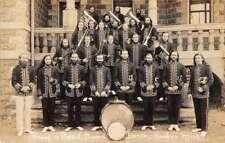 Benton Harbor Michigan House of David Band Real Photo Vintage Postcard AA12945