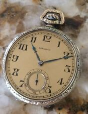 1923 Longines gold filled pocket watch