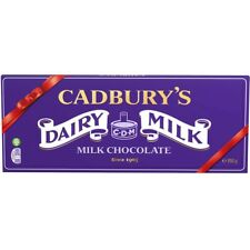 CADBURY DAIRY MILK CHOCOLATE BAR - BIGGEST BAR 850g Great Gift