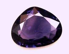 1.48 Carats Natural Mined Loose Gem Heart Purplish- Blue Sapphire 8.3x6.7 MM LxW
