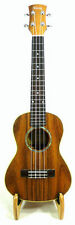Alulu Solid Acacia Koa Tenor Ukulele, natural wood grain, hard case, HU763