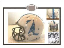 """New listing Custom 1960 Throwback Houston Oilers Prototype 2"""" Pocket Pro Football Helmet"""