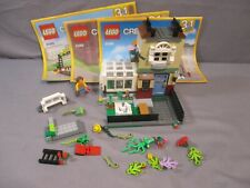 Lego Creator 31065 PARK STREET TOWNHOUSE 3 in 1 Building Set + instructions 2017