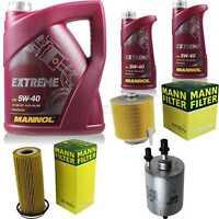 Inspektionspaket 7 L Extreme 5W-40 + MANN Filterpaket 10932725
