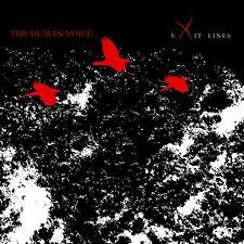 The Human Voice - Exit Lines 2008 CD digi minimalist ambient Northaunt