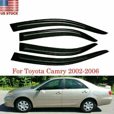 Fits Toyota Camry 2002 2006 2005 2004 2003 Window Visor Sun Rain Guard Deflector