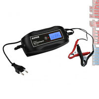 Eufab 6V 12V Automatik Batterie-Ladegerät 1,2-120Ah AGM Gel Blei vollautomatisch