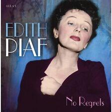 EDITH PIAF - NO REGRETS 4 CD NEU