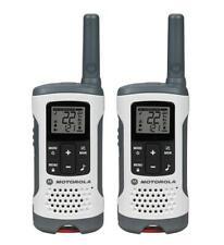 Motorola MOT-T260 2-Way Radio, 2-Pack, 25Mi., White