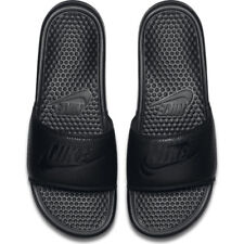 de397fc98afd Mens Nike Benassi JDI Just Do It Print Slides Black 343880 001 Sandals