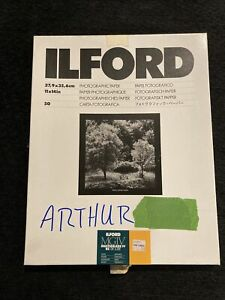 """Ilford MGIV Multigrade IV RC Deluxe Satin 11X14"""" paper 30 SHEETS"""